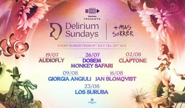 Eli Rojas at Delirium Sundays